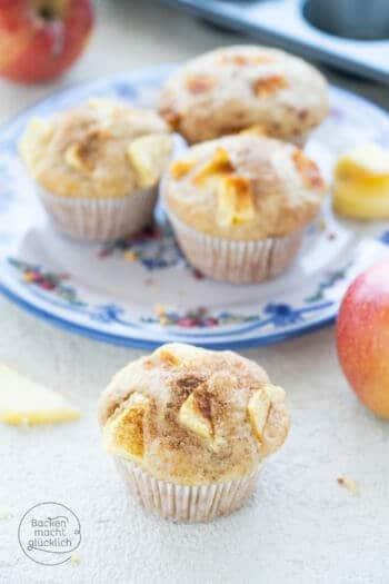 Apfel-Muffins mit Buttermilch