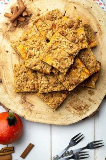 Kürbis Cheeseake mit Keksboden