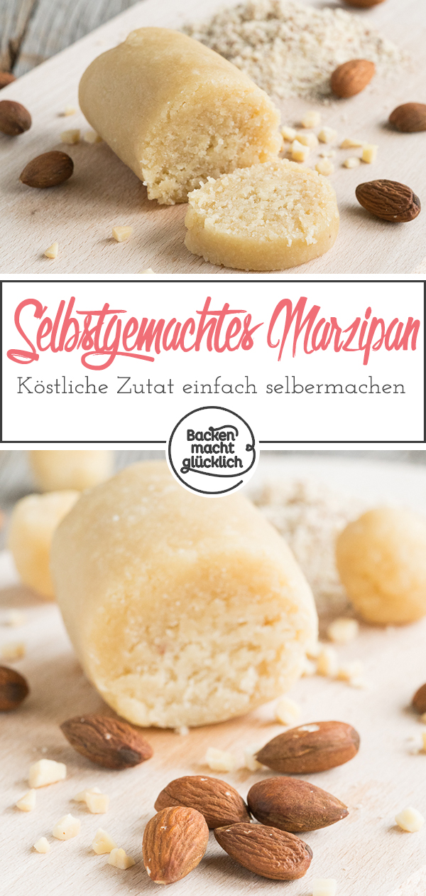 Rezept: Marzipan selbermachen   Backen macht glücklich