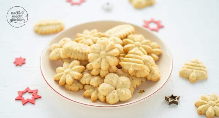 Gebäckpresse Rezept Kekse