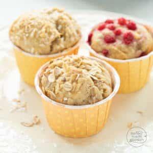 Gesunde Vollkorn-Muffins mit Honig