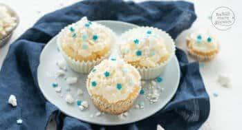 Schneeflocken Cupcakes Rezept