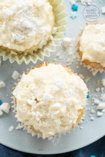 Snowlfakes Cupcakes Rezept