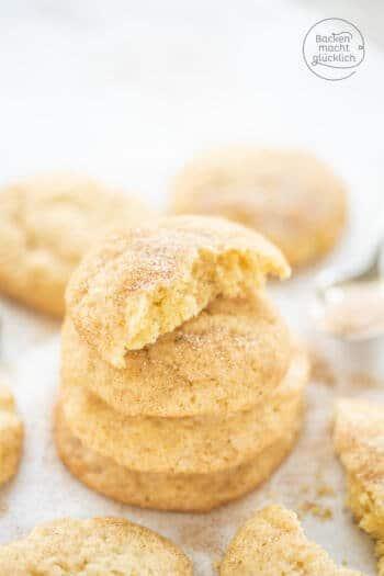 Zimt-Zucker-Kekse Snickerdoodles