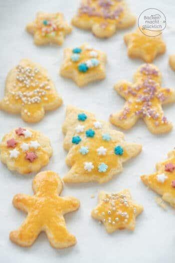 einfache Weihnachtsplätzchen Rezept