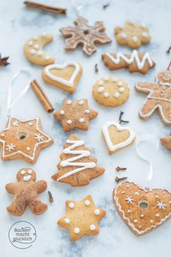 Lebkuchen Kekse zum Ausstechen