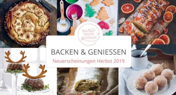 Neue Backbücher Herbst 2019