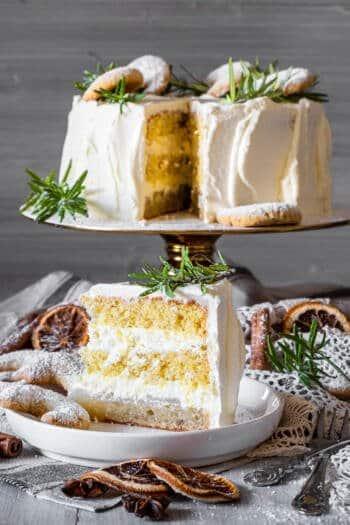 Vanille-Kipferl-Torte