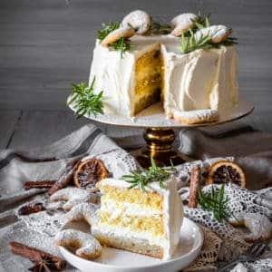 Vanillekipferl Sahne Torte