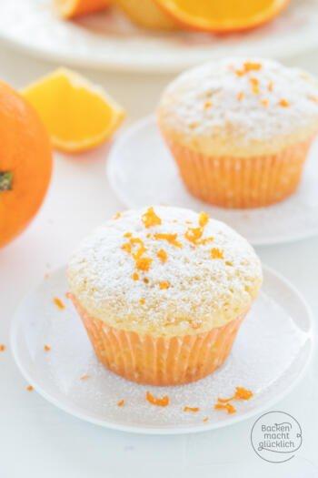 Orangen Joghurt Muffins Rezept