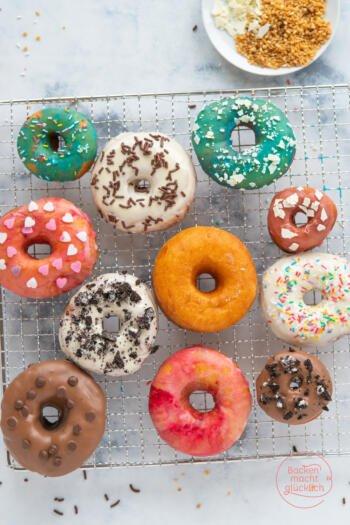 Amerikanische Donuts selbermachen