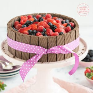 Beeren-Schoko-Torte