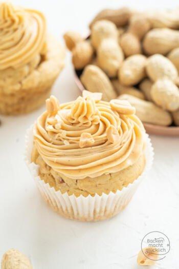 Erdnussbutter Cupcakes