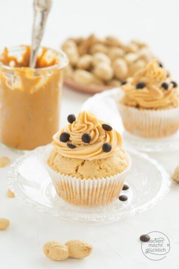Peanut Butter Cupcakes Frischkäse