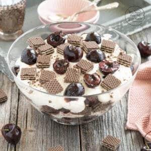Schoko Kirsch Trifle