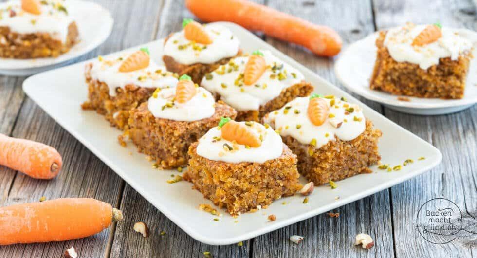 Karottebkuchen veganes Rezept