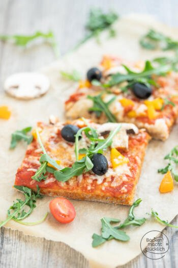 Dinkelvollkorn Pizza