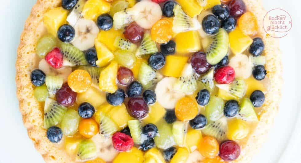 Obstkuchenboden einfach