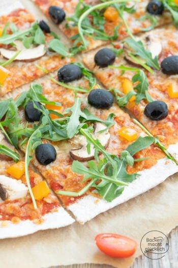 Vollkorn Pizzateig