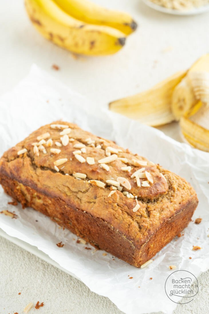 Banana Bread Rezept low carb