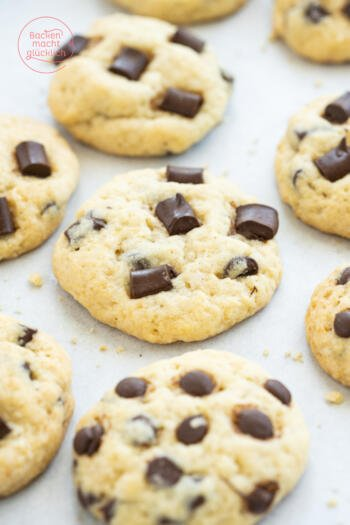 Chocolate Chip Cookies ohne Ei