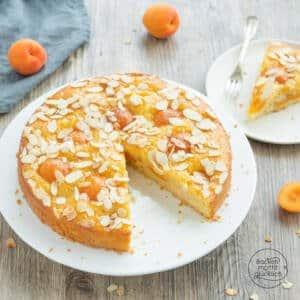 einfacher saftiger Aprikosenkuchen
