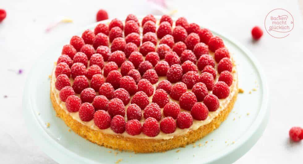 Himbeer-Kuchen einfach