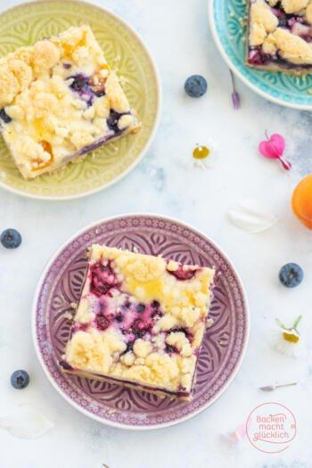 Obst-Streusel-Kuchen Mürbeteig