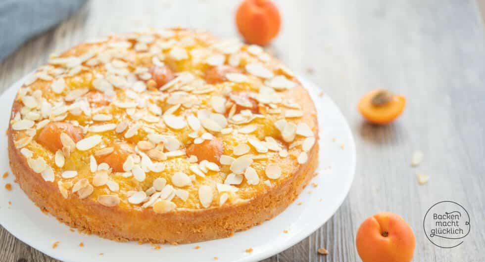 saftiger Aprikosenkuchen Springform