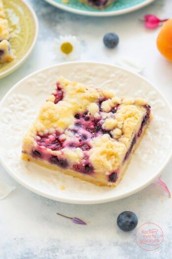 saftiger Streuselkuchen mit Obst