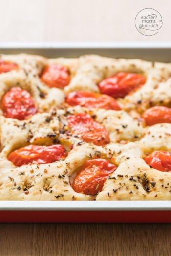 Tomaten-Focaccia-Rezept