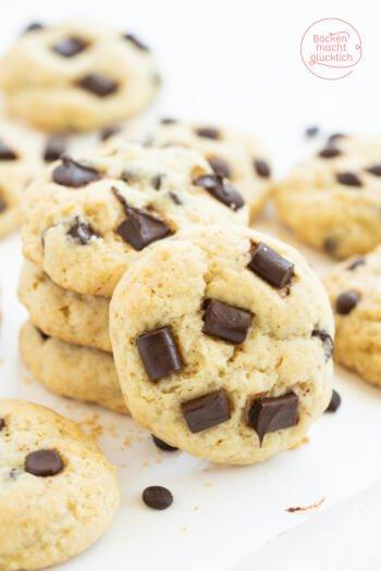 Vegane Schoko Chip Cookies