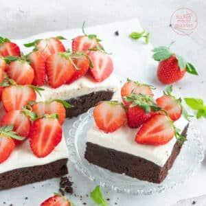 Erdbeer-brownie-Rezept