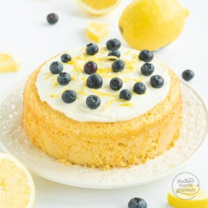 saftoger Zitronenkokos-Kuchen