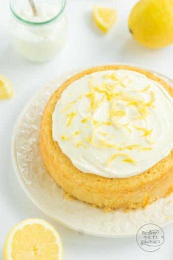 Zitronen-Joghurt-Kokoskuchen