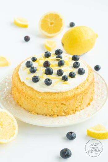 Zitronen-Kokos-Kuchen
