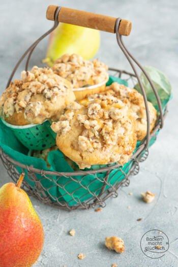 Birnen Zimt Muffins