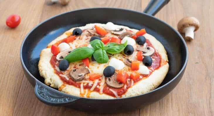 Pfannenpizza Pan Pizza