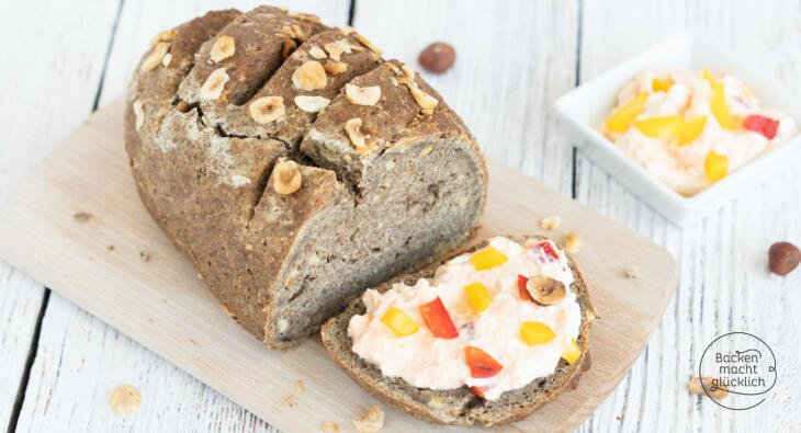 Low Carb haselnussbrot