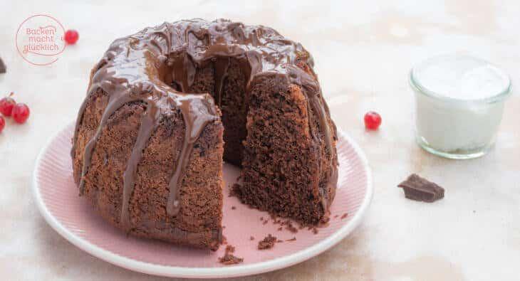 Saftiger Schoko-Joghurt-Kuchen