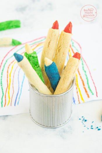 Kekse zur Einschulung Stiftkekse