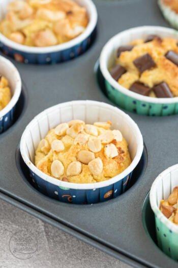 Kokosmehl Muffins ohne Zucker