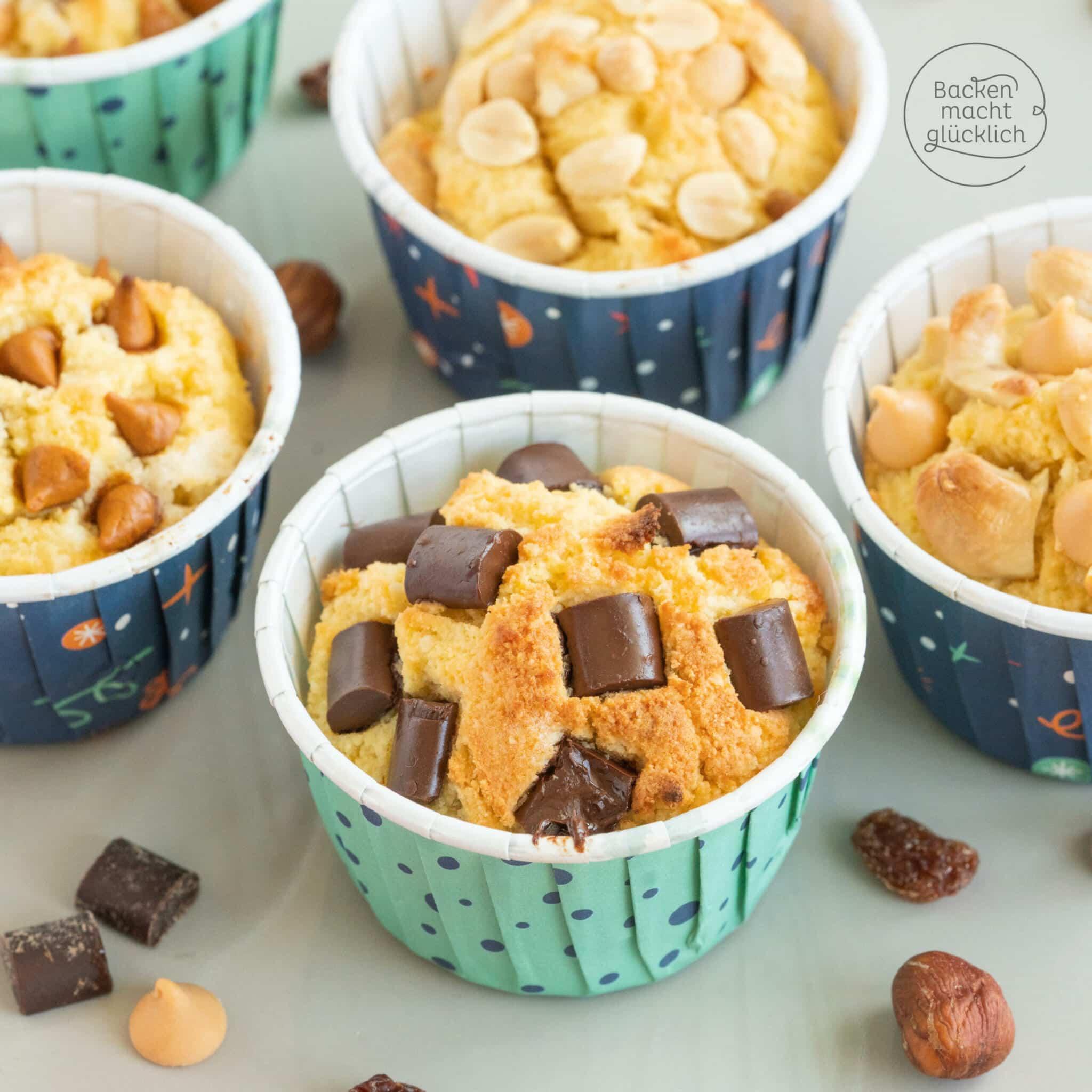 Low Carb Muffins Grundrezept