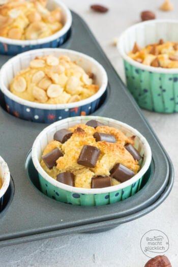 glutenfreie zuckerfreie Muffins low carb