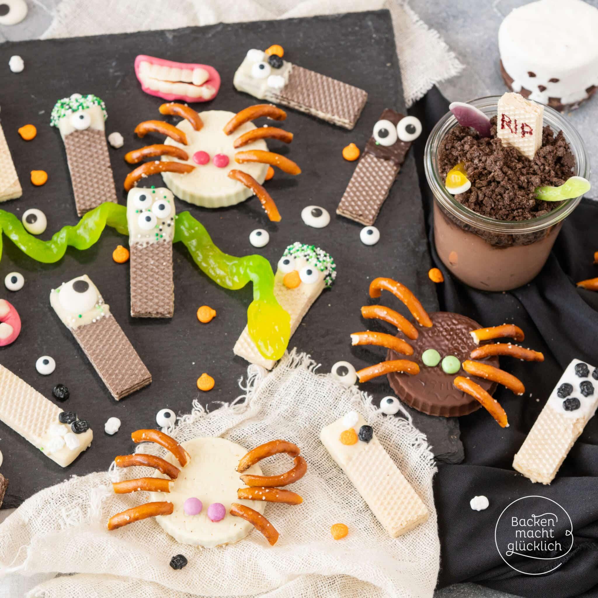 Halloween Snacks einfach schnell