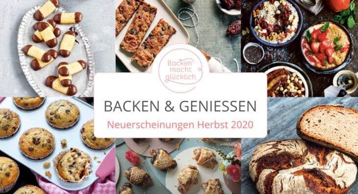Lesegenuss: Neue Backbücher im Herbst & Winter 2020