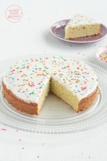 Fitness Kuchen Vanille Protein