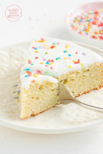 Kalorienarmer Kuchen ohne Mehl und Zucker