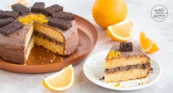 Schoko-Orangen-Torte einfach