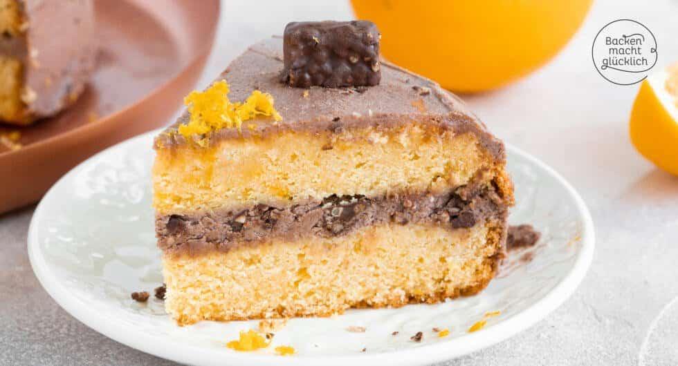 Schokoladentorte mit Orangencreme